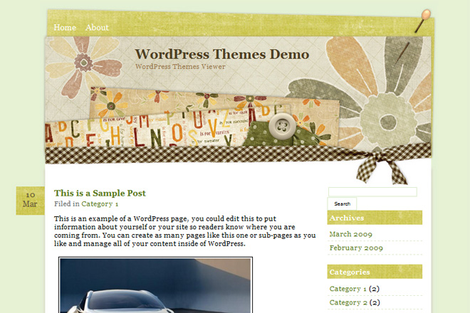 Floral Day WordPress Theme