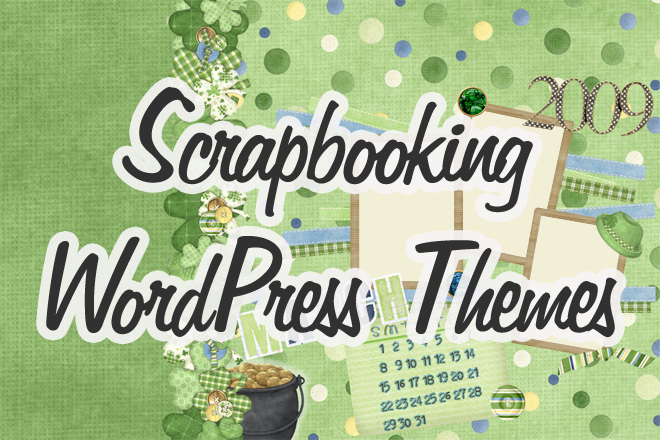Free Scrapbooking WordPress Themes