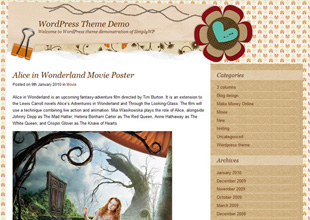 Scrapbook Mania WordPress Theme