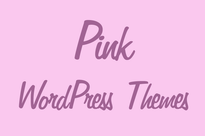 Pink WordPress Themes