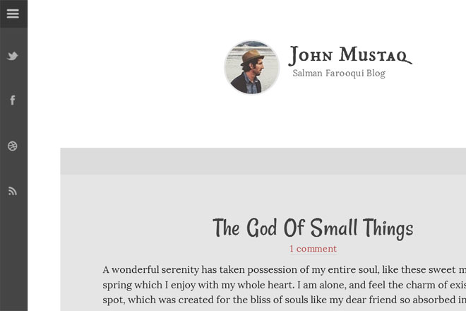 Thoughtful Blogger Template